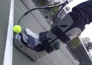 Broken Toe Tennis