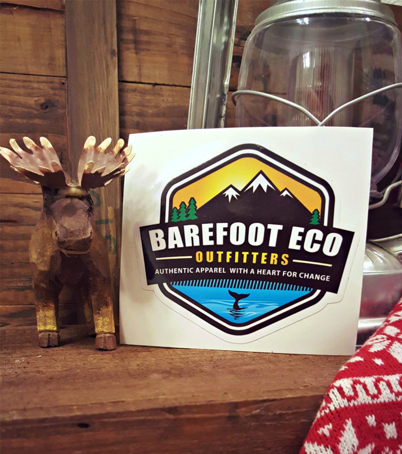 Barefoot Eco Decal for Product Page