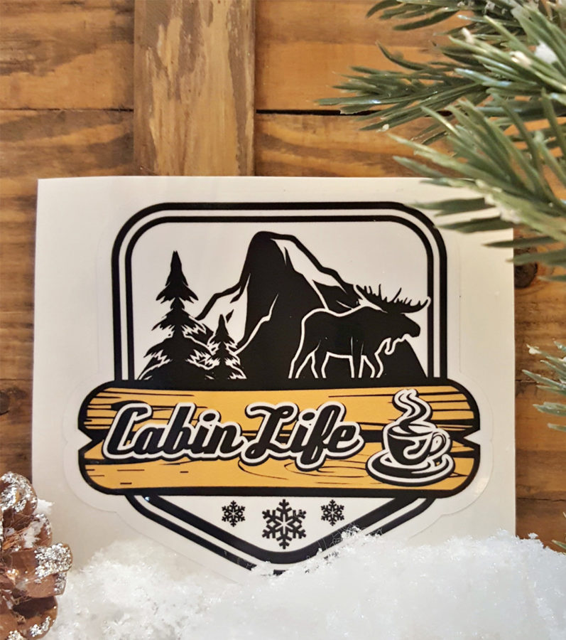 Cabin Life Decal