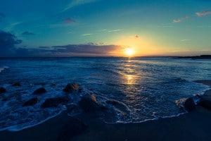 Mighty Ocean Sunset