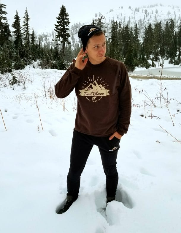 Mountain Lovers Joggers and Beanie