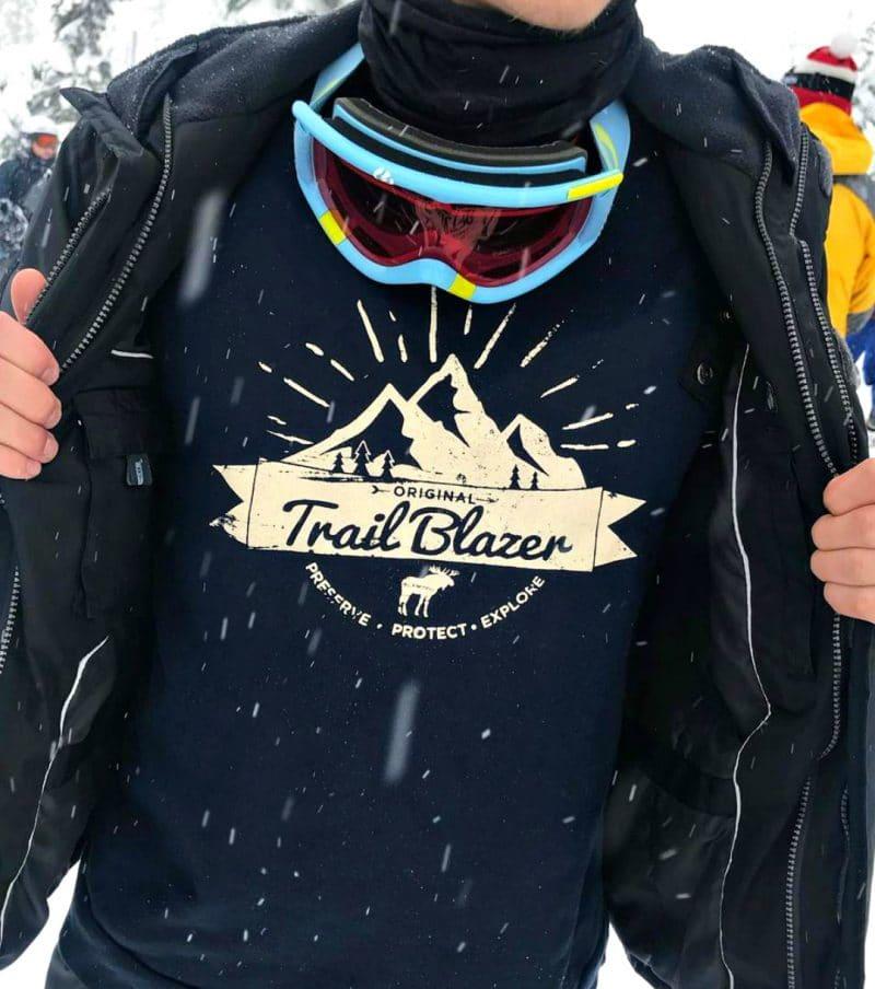 Unisex Original Trail Blazer Sweatshirt/Twilight