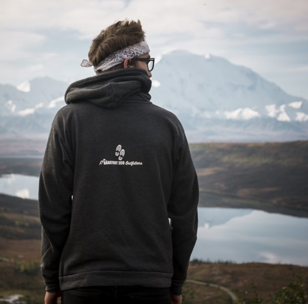 Into the Mountains Hoodie Back