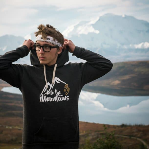 Into the Mountains Hoodie Gallery