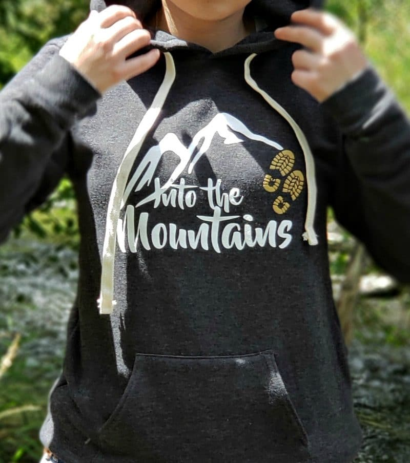 Into the Mountains Unisex Organic Cotton/RPET Hoodie