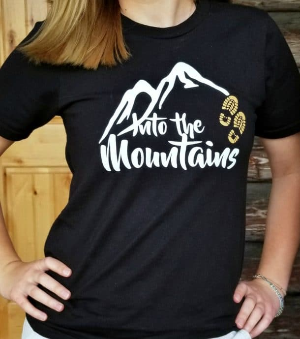 Into the Mountains Unisex Tee Shop