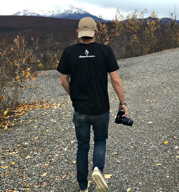 Into the Mountains Tee Back View