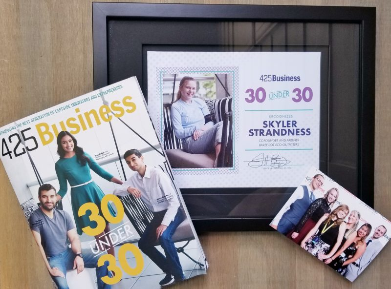 425 Business 30 Under 30 Award Skyler Strandness