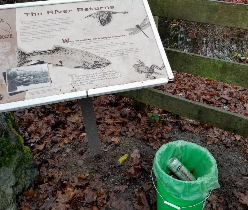 Sammamish River Cleanup