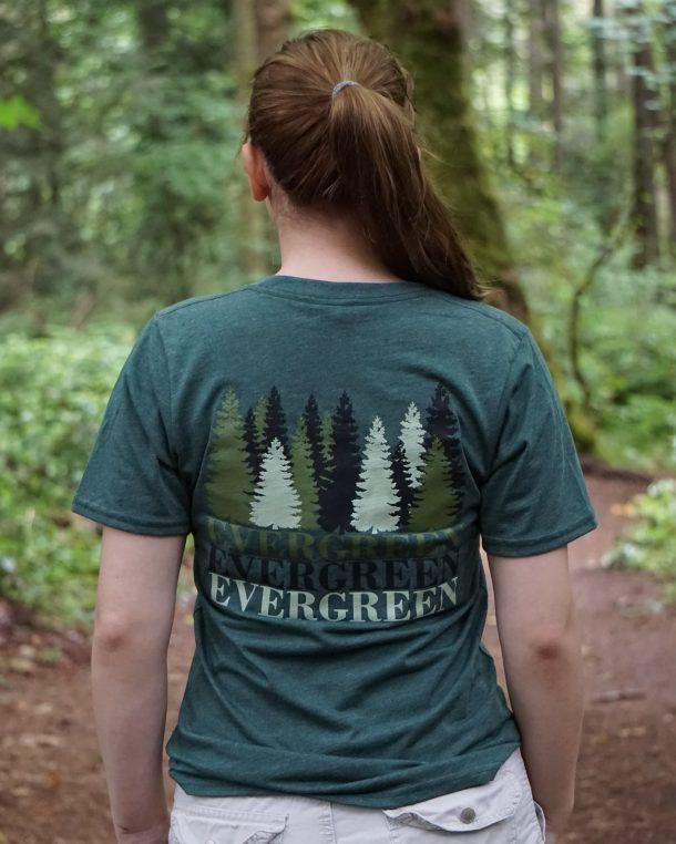 Evergreen Tee Back
