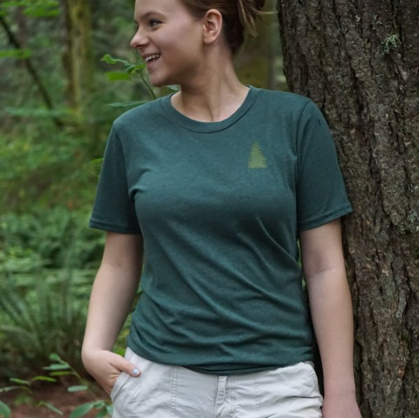 Evergreen Tee Front