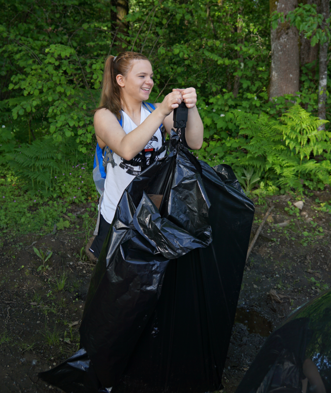 Skyler Bear Creek Cleanup Revisited May 2020