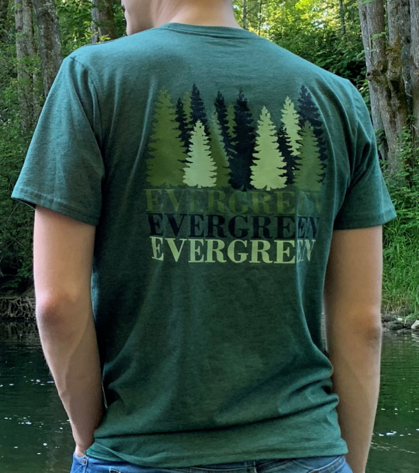 Evergreen Tee Shop Page